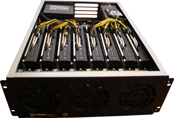 NEXUS (PROFESSIONAL ZCASH MINING RIG - 2400H/S) - 1300 Watts