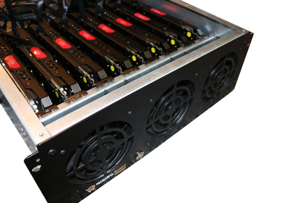 IMPERIUM (ETH and Zcash Mining Rig: 230 MH/S ETH) - Professional Build - 1300 Watts