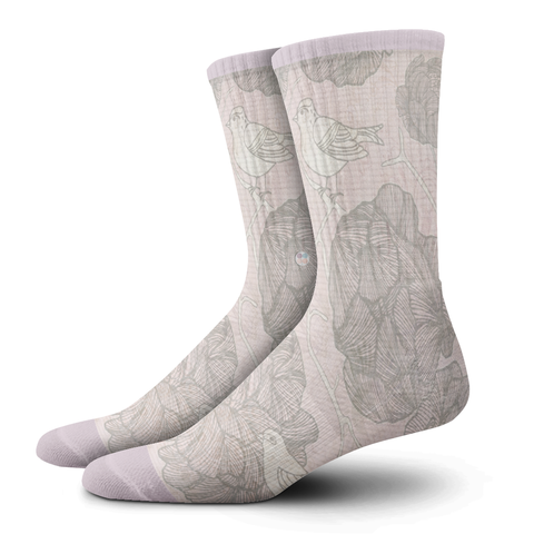 Ladies Socks, Cuckoo's Nest - OfficialDraper.com - Mens Socks & Womens Socks - Casual Socks, Performance Socks, Athletic Socks, 90's Clothing, Men's Socks, Women's Socks, Cool Socks, Funky Socks