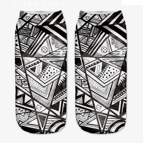 Escher - OfficialDraper.com - Mens Socks & Womens Socks - Casual Socks, Performance Socks, Athletic Socks, 90's Clothing, Men's Socks, Women's Socks, Cool Socks, Funky Socks