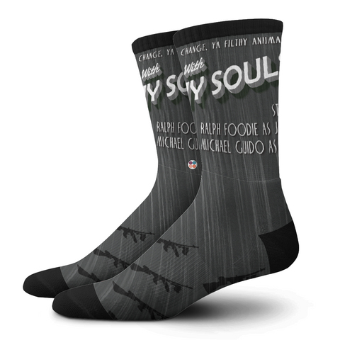 Gentlemens Socks, Filthy Souls - OfficialDraper.com - Mens Socks & Womens Socks - Casual Socks, Performance Socks, Athletic Socks, 90's Clothing, Men's Socks, Women's Socks, Cool Socks, Funky Socks