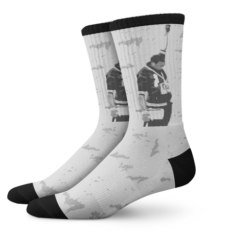 DYNAMIC-ELECT™, '64 Olympics - OfficialDraper.com - Mens Socks & Womens Socks - Casual Socks, Performance Socks, Athletic Socks, 90's Clothing, Men's Socks, Women's Socks, Cool Socks, Funky Socks