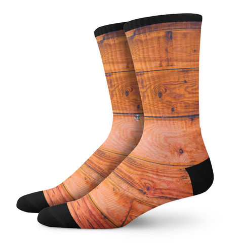 Gentlemens Socks, Mahogony - OfficialDraper.com - Mens Socks & Womens Socks - Casual Socks, Performance Socks, Athletic Socks, 90's Clothing, Men's Socks, Women's Socks, Cool Socks, Funky Socks