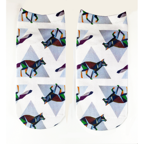 Deco Fox - OfficialDraper.com - Mens Socks & Womens Socks - Casual Socks, Performance Socks, Athletic Socks, 90's Clothing, Men's Socks, Women's Socks, Cool Socks, Funky Socks