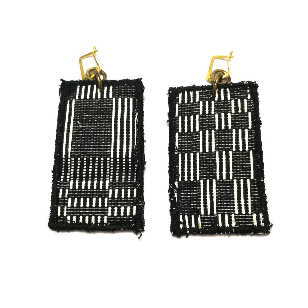 Box Patch Earrings