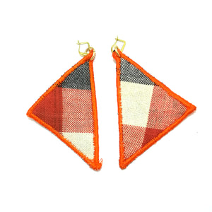 Triangle Patch Earrings