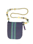 Woven Bag — Beaded Violet
