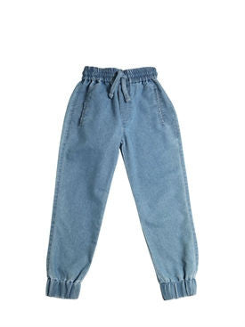 Denim Sweatpant Chambray