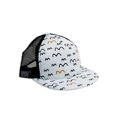 Fly Away With Me Mesh Trucker Cap
