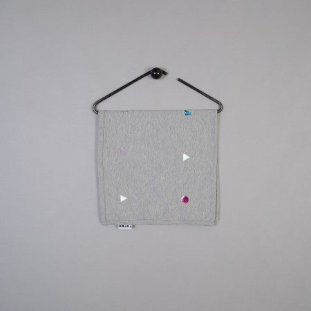 Polka Shapes Baby Blanket