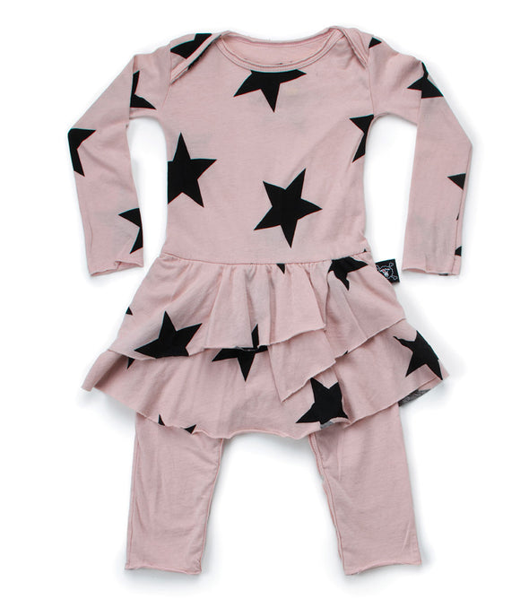 Star Skirt Onesie