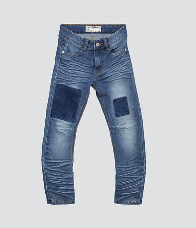 Newark Blue Patch Jeans