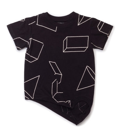 Geometric Penguin T-Shirt