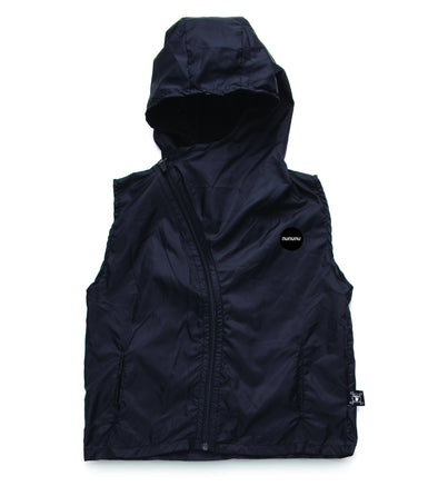 Nylon Hooded Vest