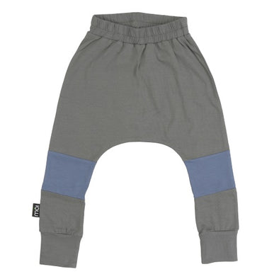 Grey Seed Baggy Pants