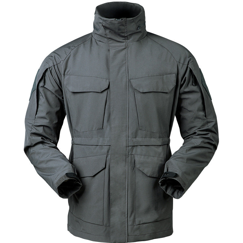 Outdoor Waterproof Tactical Men's Trench Coat