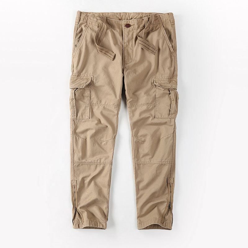 Outdoor Cotton Washed Camouflage Men's Pants