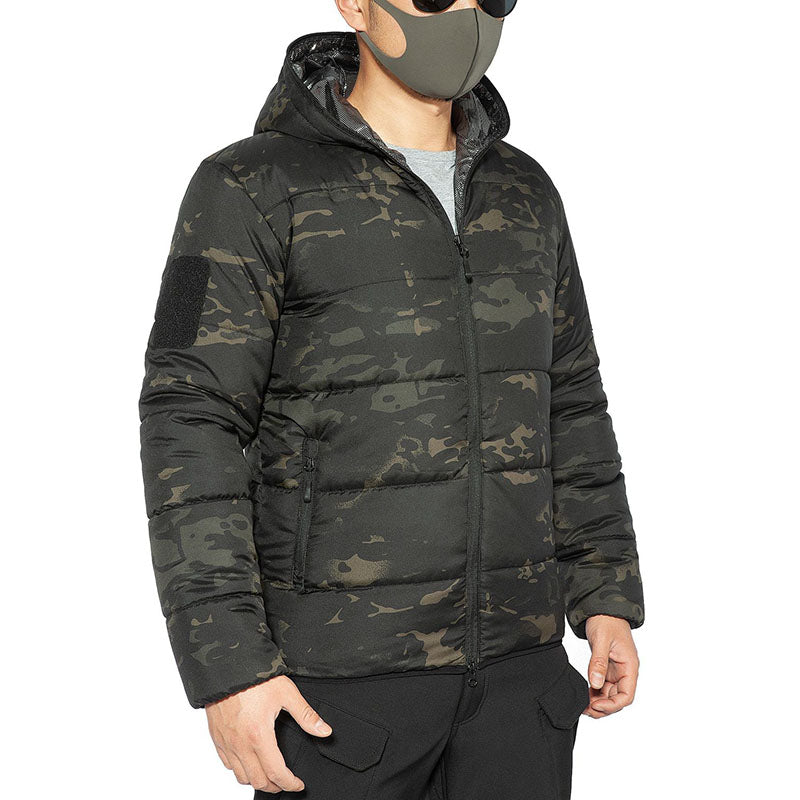 Outdoor Warm Camouflage Men's Coats
