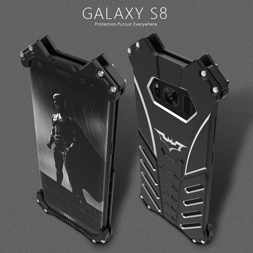 Aviation Aluminium Materials Three Layers Batman Logo Phone Case - KINGEOUS