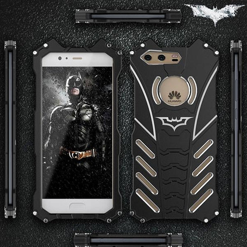Aviation Aluminium Materials Three Layers Batman Logo Phone Case For HUAWEI - KINGEOUS