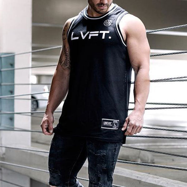 Basketball Fitness Quick-drying Men's Sportswear Vest - KINGEOUS