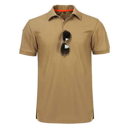 Special Forces Tactical Lapel Quick-drying Men's T-shirt(No Armband)