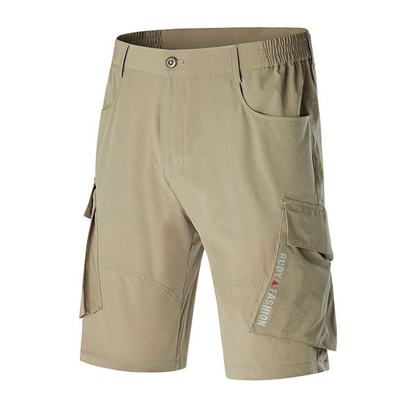 Quick-drying High-elastic Multi-bag Design Men's Shorts