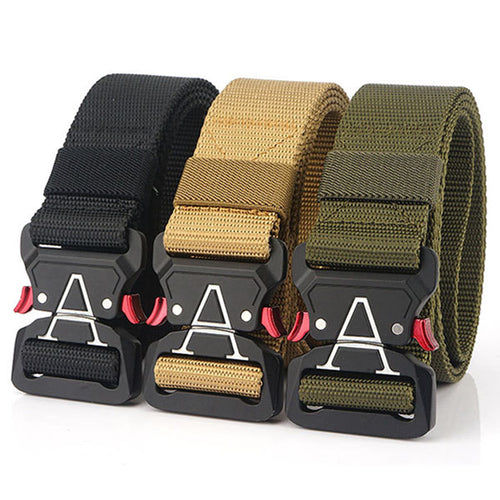 Cobra Series Quick-release Buckle Reinforced Belt - KINGEOUS