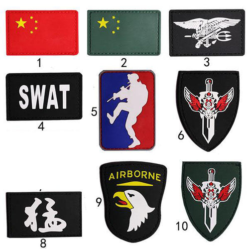 Extraordinary Design Multipurpose Velcro Arm Jacket Sticker