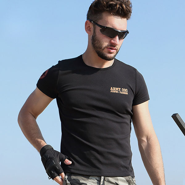 Special Force Round Neck Breathable Men's T-shirt