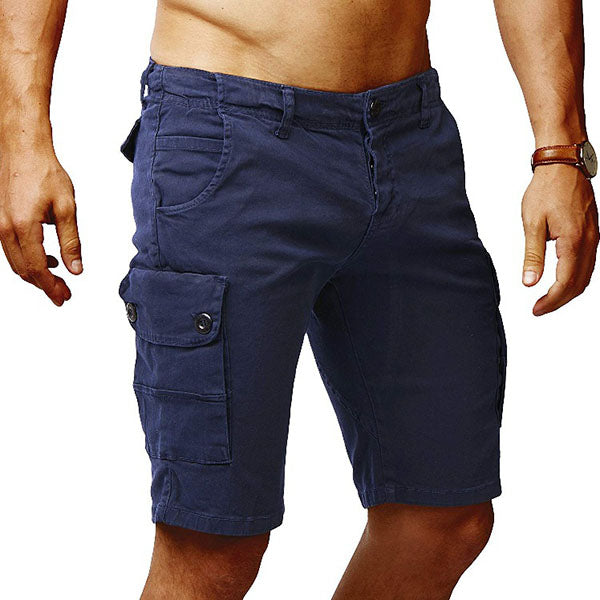 Loose Casual Multi-pocket Men's Cargo Shorts