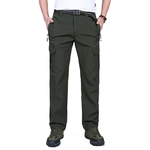 Thin Quick-Drying Waterproof Climbing  Men's Pants
