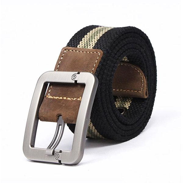 Tactical Canvas Add Thicken Stripe Men Belt