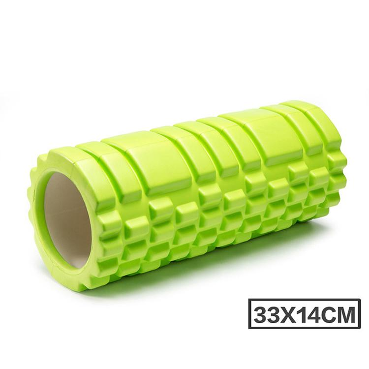 Yoga Block Fitness Equipment Pilates Foam Roller Fitness Exercises