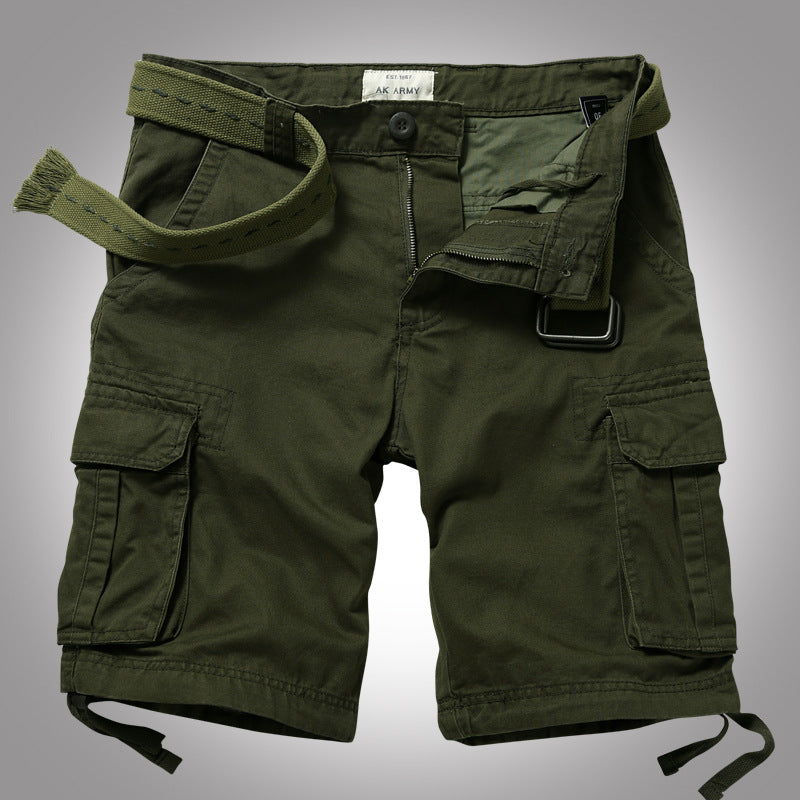 Casual Loose Camo Cotton Men's Shorts