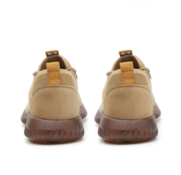 Leather Men Safety Shoes Steel Toe Work Shoes 100% Leather