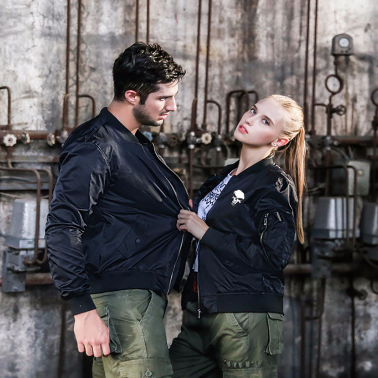 Thicken Flight Jacket for Men And Women Plus Size Coat For Men