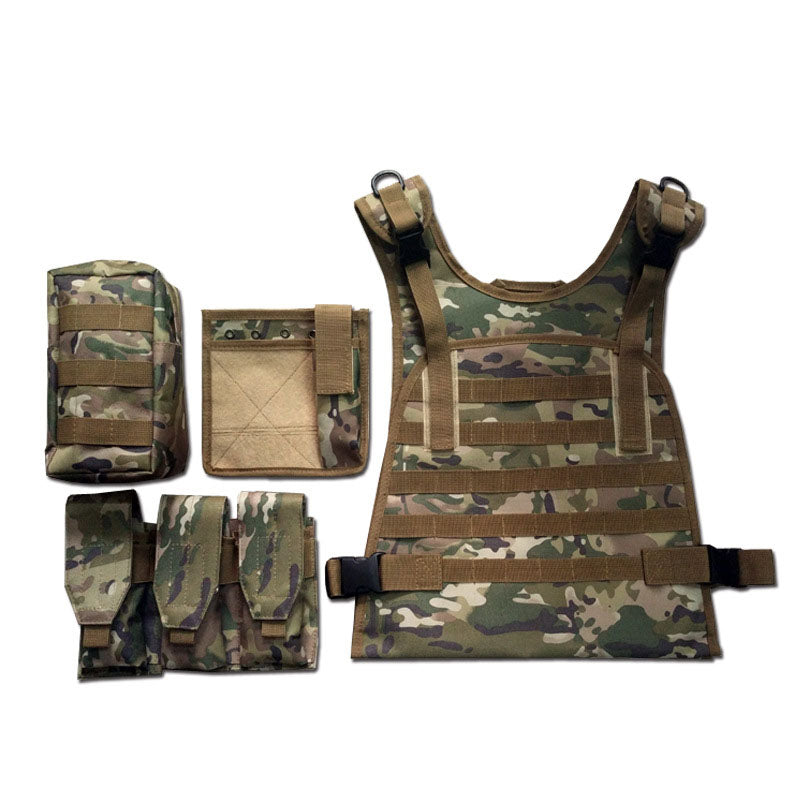 Outdoor Camo Amphibious Tactical Module Multifunctional Vest