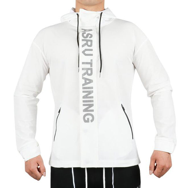 Outdoor Printed Hooded Sports Reflective Men's Coat