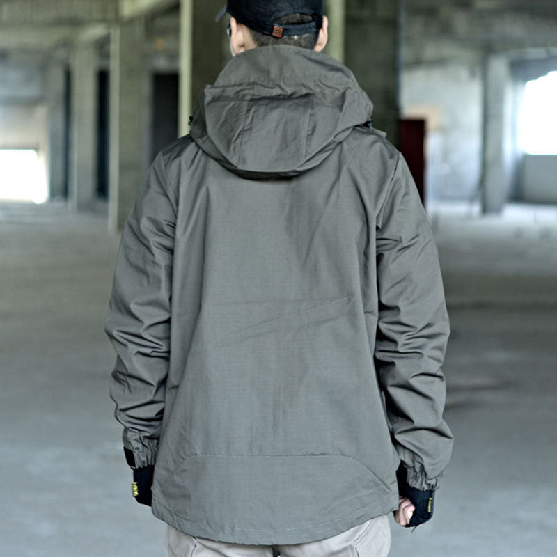 New Cool Army Style Hoodie Men's Jacket
