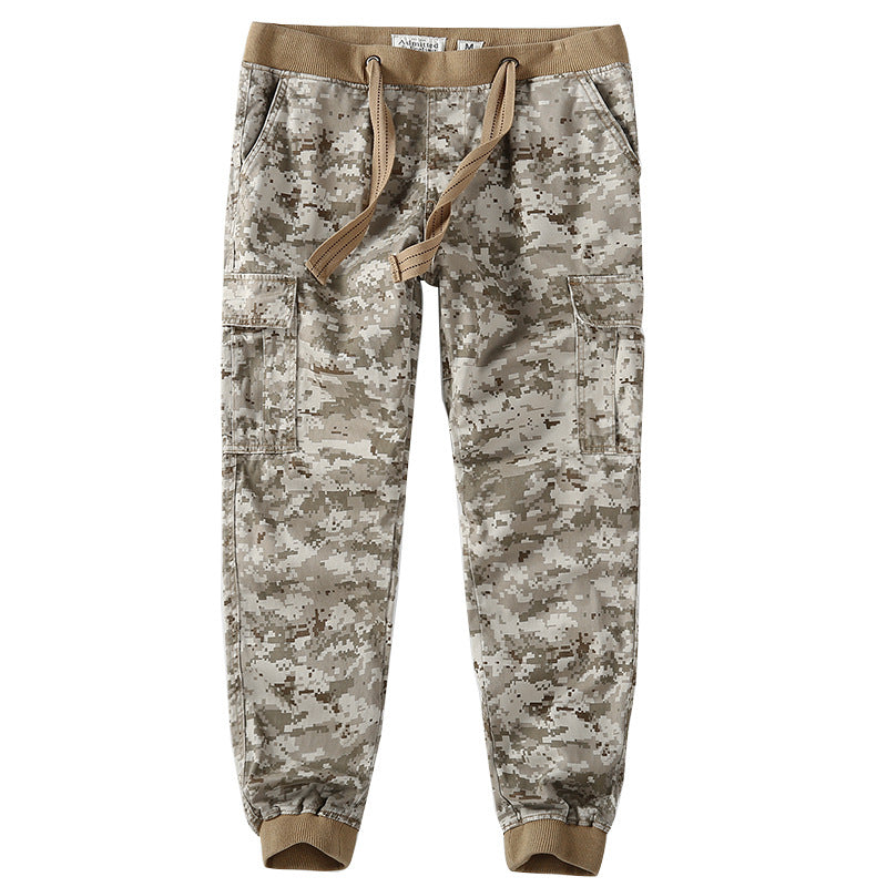 Fashion Casual Thick Camouflage Men's Pants