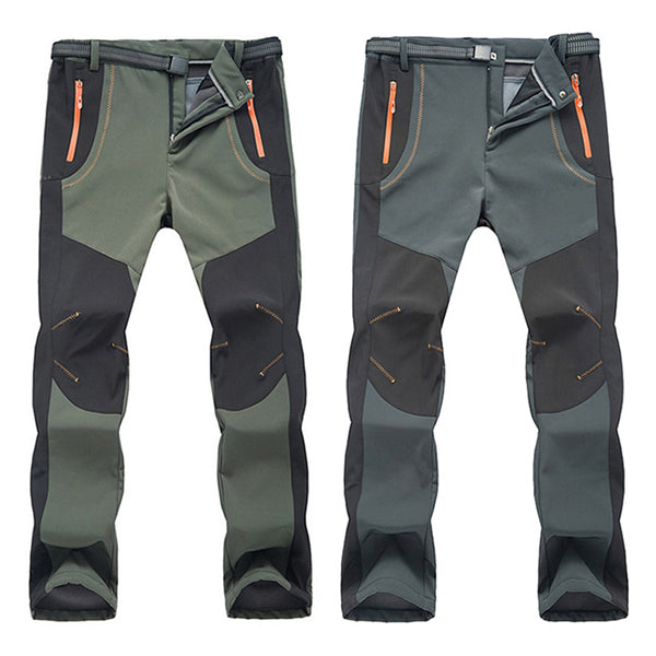 Waterproof Windproof Thick  Warm Hiking Pants