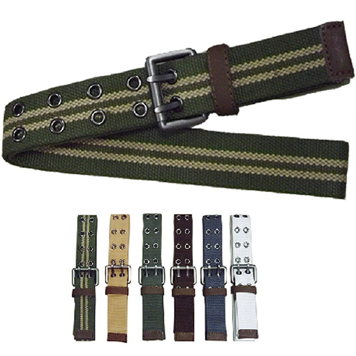 Fashion Add Thicken Canvas Cargo Men Belt