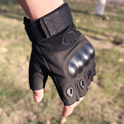 Outdoor Tactical Military Non-slip Silica Gel Men's Gloves