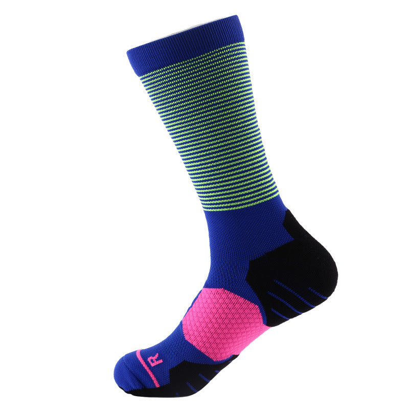 Sweat Absorption and Shock Basketball Men's Socks
