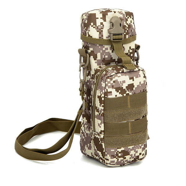 Outdoor Riding Tactical Shoulder Bags( 800ml Sports Bottle Available)