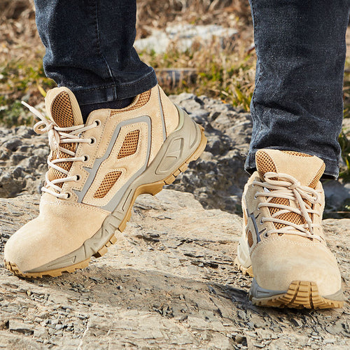 Outdoor Combat Commando Men Low Ankle Boots