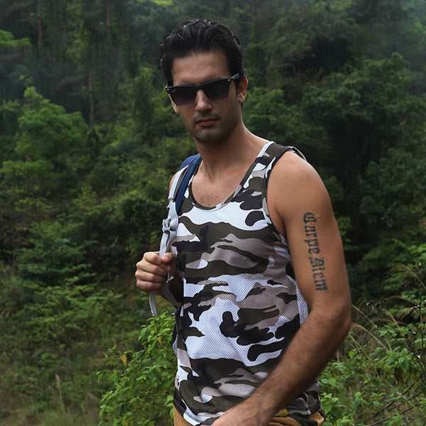 Breathable Quick Drying Outdoor Sport Camo Vest - KINGEOUS