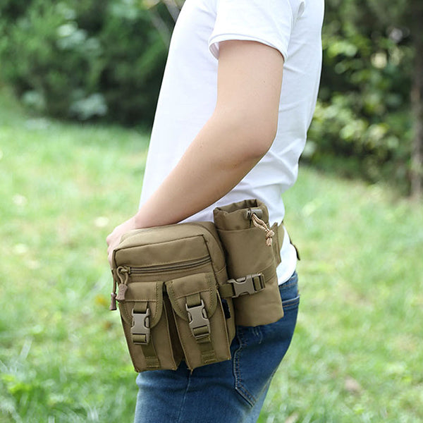 Waterproof  Riding Hiking Waist Bag (Bottle Available)