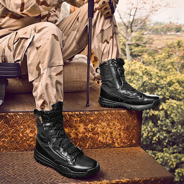 Military Special Force Combat Safety Ankle Men's Tactics Boots